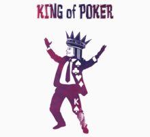 King of Poker purple Kids Tee