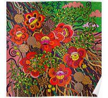 Shorea Robusta [the cannonball tree] Poster