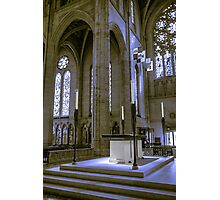 Altar, Grace Cathedral Photographic Print