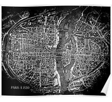 Paris à 1550 Poster