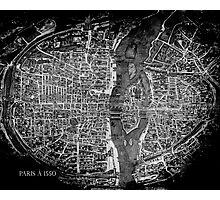 Paris à 1550 Photographic Print