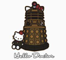 Hello Doctor (cat ear) Kids Tee