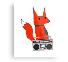 music fox Metal Print