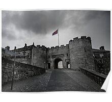 Stirling Castle Entrance Poster