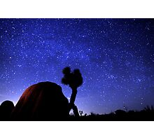Starscape Over Joshua Tree Desert Photographic Print
