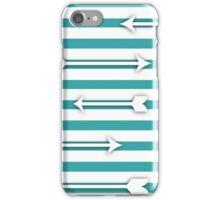 Striped Arrows iPhone Case/Skin