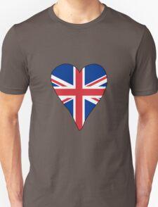 I Heart United Kingdom Unisex T-Shirt