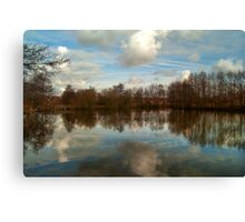 Lakeside Country Park HDR Canvas Print