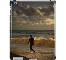 Surfer sunset iPad Case/Skin