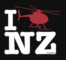 "I ""Fly"" NZ - Chopper - Dark Kids Clothes"