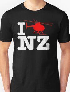 "I ""Fly"" NZ - Chopper - Dark Unisex T-Shirt"