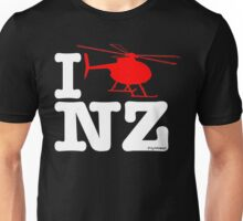 "I ""Fly"" NZ - Chopper - Dark Unisex T-Shirt"
