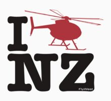 "I ""Fly"" NZ - Chopper - Light One Piece - Long Sleeve"