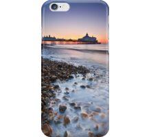 Eastbourne pier sunrise iPhone Case/Skin