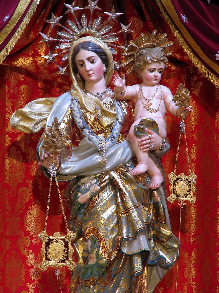 Our Lady of Mount Carmel by fajjenzu