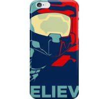 Halo , believe , game ,fun , style , hype , good ,chill , obey  iPhone Case/Skin