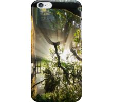 Morning Sun rays At Hampden Park, Eastbourne. iPhone Case/Skin