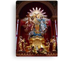 The Most Holy Trinity Canvas Print