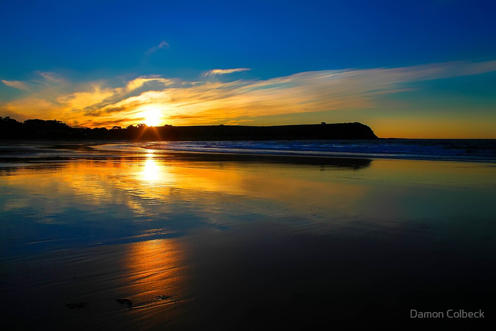 Don Heads Reflections (Sunset) by Damon Colbeck