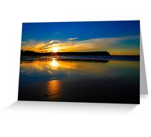 Don Heads Reflections (Sunset) Greeting Card