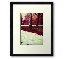 Martian Winter II Framed Print