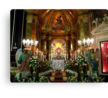The Holy Sepulchre Canvas Print