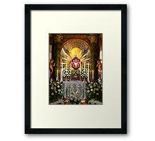 The Holy Sepulchre Framed Print