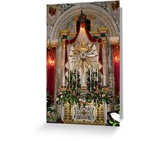 The Holy Sepulchre Greeting Card