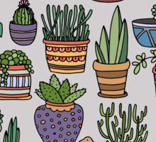Succulent Party Sticker