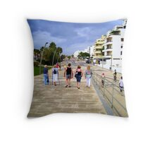 The're off to see the wizard. Throw Pillow