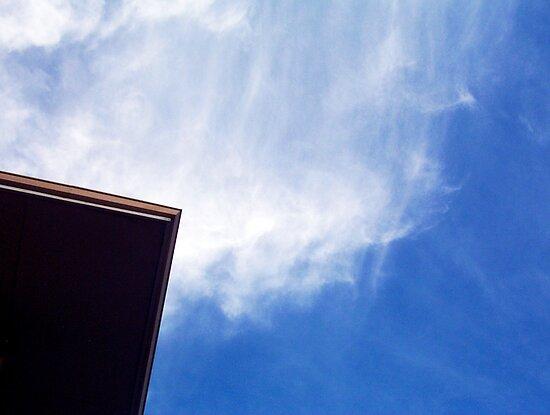 Corner Flat Explosion Sky by Robert Phillips