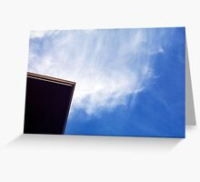 Corner Flat Explosion Sky Greeting Card