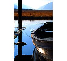 Snoozing Boat Photographic Print