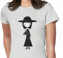 Lydia from Beetlejuice  Womens Fitted T-Shirt