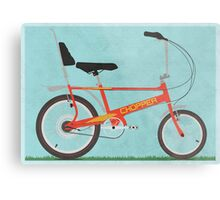 Chopper Bike Metal Print
