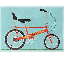 Chopper Bike Photographic Print