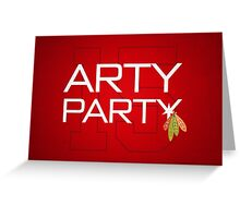 Arty Party Greeting Card
