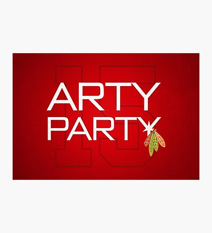 Arty Party Photographic Print