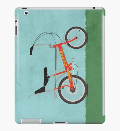 Chopper Bike iPad Case/Skin