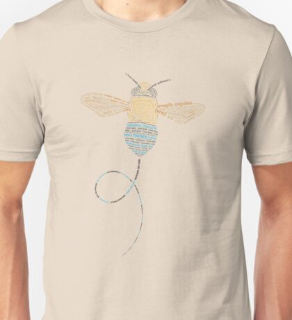 Bees are awesome (Blue Banded) Unisex T-Shirt