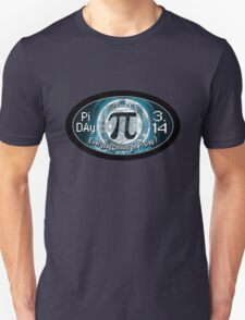 Pi Day Oval Design Unisex T-Shirt