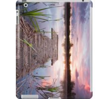 Jetty sunrise iPad Case/Skin