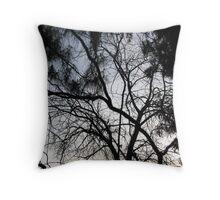 Branching Pathways Throw Pillow