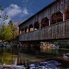 Covered Bridge by Kathy Weaver