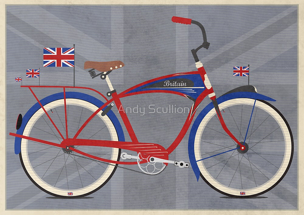 British Bicycle by Andy Scullion