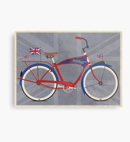 British Bicycle Metal Print