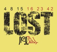Lost - Hieroglyphs/Numbers by Stuart White