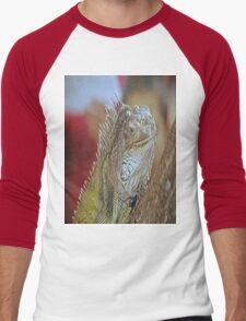 Iguana Men's Baseball ¾ T-Shirt