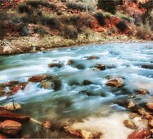 streaming thru Zion by RichardBlanton