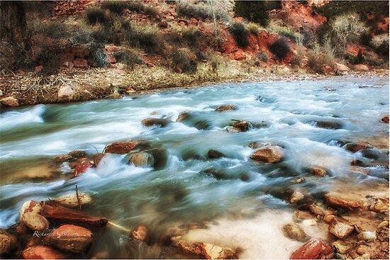 streaming thru Zion by RichardBlanton